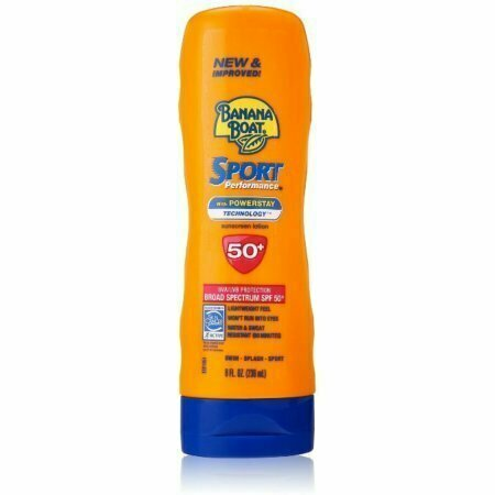 Banana Boat Sport Performance Sunscreen Lotion, SPF 50 8 oz - usaotc.com
