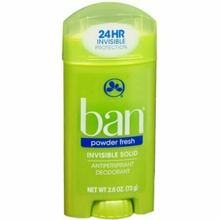 Ban Anti-Perspirant Deodorant Invisible Solid Powder Fresh 2.60 oz - usaotc.com