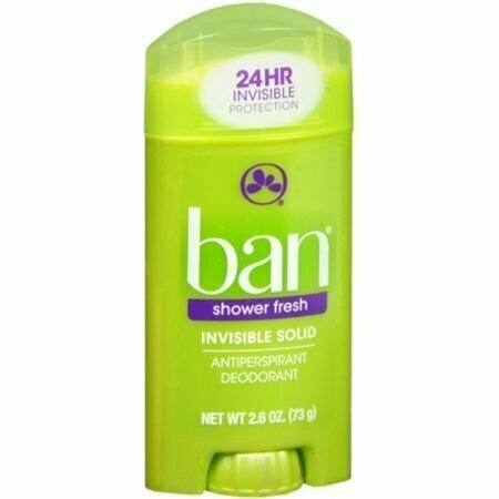 Ban Anti-Perspirant Deodorant Invisible Solid Shower Fresh 2.60 oz - usaotc.com