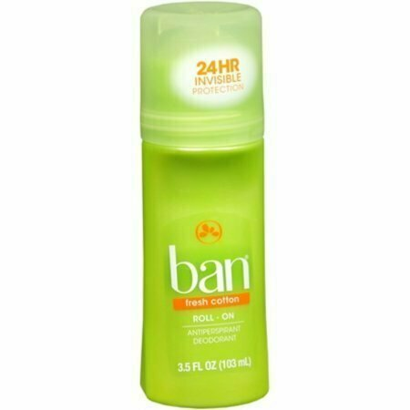 Ban Anti-Perspirant Deodorant Original Roll-On Fresh Cotton 3.50 oz - usaotc.com