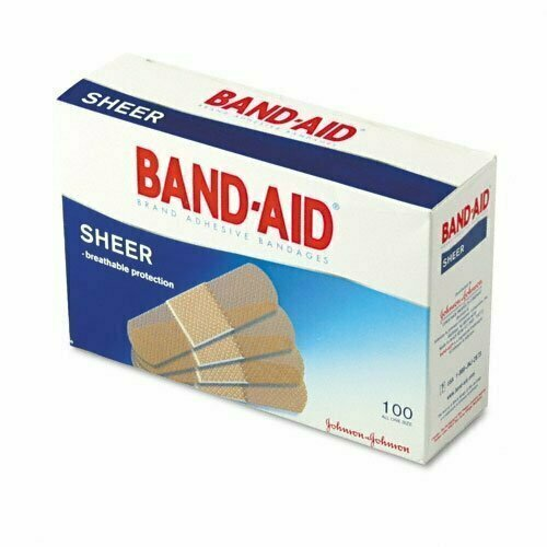 BAND-AID COMFORT-FLEX SHEER 1 SIZE 100CT - usaotc.com