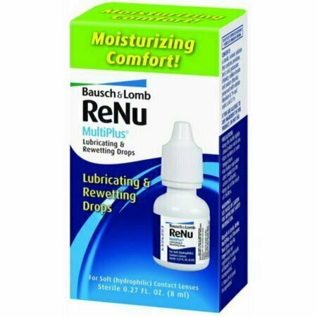 Bausch & Lomb ReNu MultiPlus Lubricating and Rewetting Drops 0.27 oz - usaotc.com