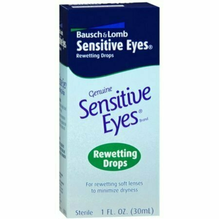 Bausch & Lomb Sensitive Eyes Rewetting Drops 1 oz - usaotc.com