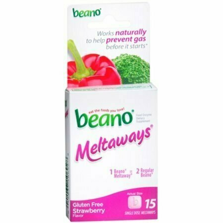 Beano Meltaways Strawberry 15 pack - usaotc.com