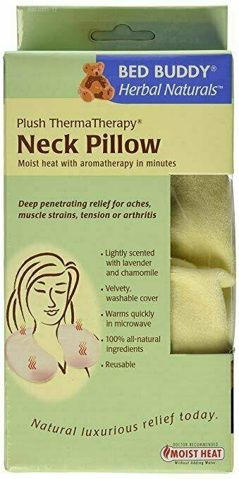 Bed Buddy Neck Pillow with Moist Heat and Aromatherapy - usaotc.com