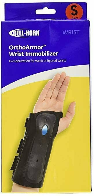 Bell-Horn OrthoARMOR Wrist Support Brace, Right Hand, Small - usaotc.com