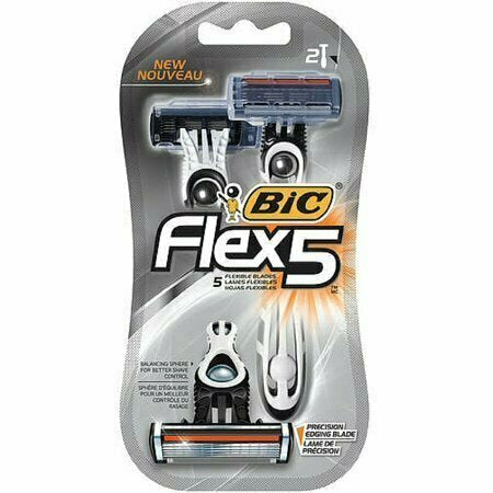 Bic Flex 5 Disposable Razors 2 each - usaotc.com