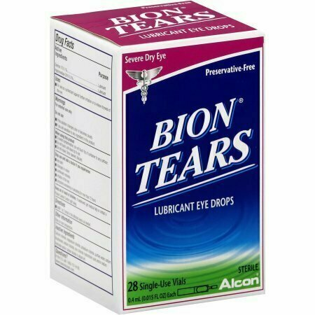 Bion Tears Lubricant Eye Drops Single Vials 28 pack - usaotc.com
