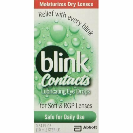 Blink Contacts Lubricating Eye Drops 10 ML - usaotc.com