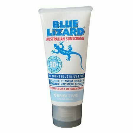 Blue Lizard Sunscreen Sensitive, SPF 30+ For Skin Gel, 3 oz - usaotc.com