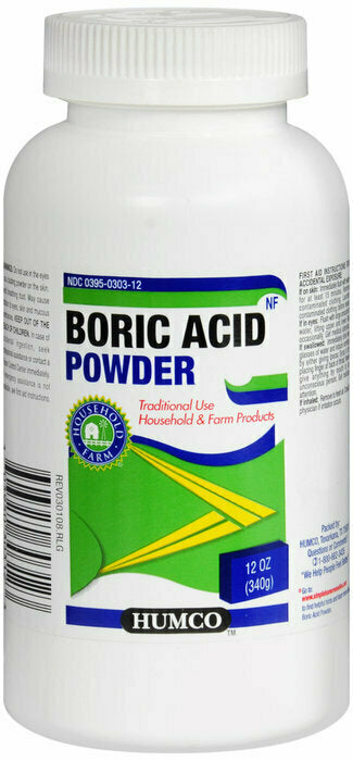 BORIC ACID NF POWDER 12OZ HUMCO - usaotc.com