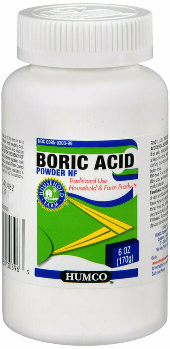 BORIC ACID NF POWDER 6OZ HUMCO - usaotc.com
