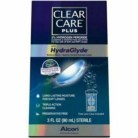 Clear Care Plus with HydraGlyde 3oz - usaotc.com