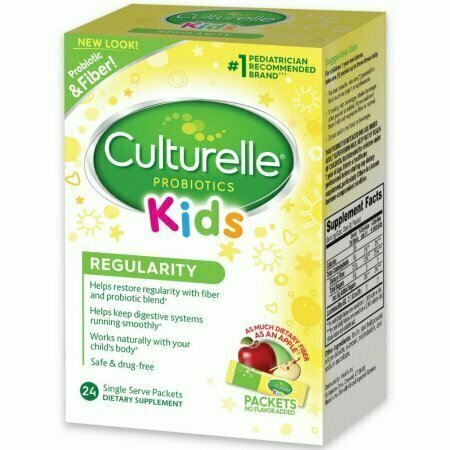 Culturelle Kids Regularity Flavorless Probiotic Powder Packets 24 Pack - usaotc.com
