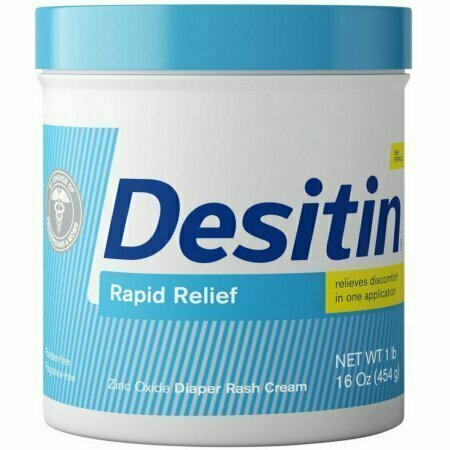DESITIN Rapid Relief Diaper Rash Cream 16 oz - usaotc.com