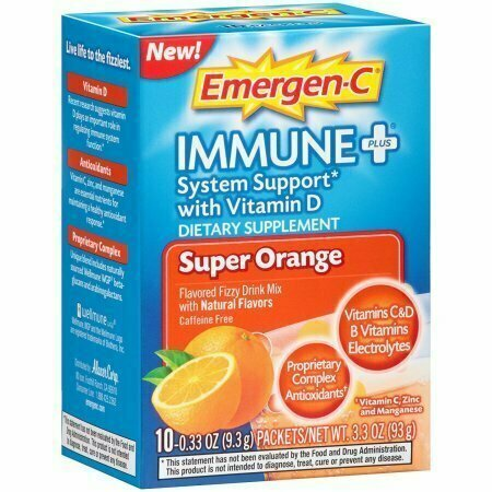 Emergen-C Immune + System Support, Super Orange 10 each - usaotc.com