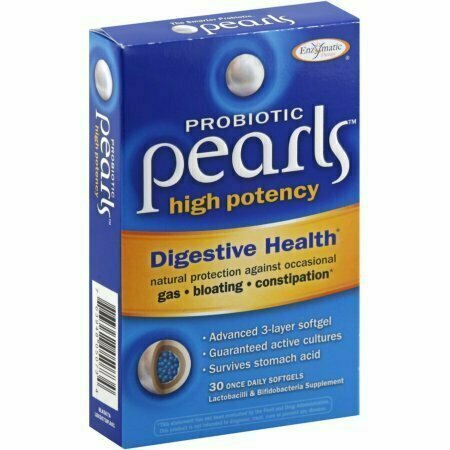 Enzymatic Therapy Probiotic Pearls High Potency Once Daily Softgels 30 Pack - usaotc.com