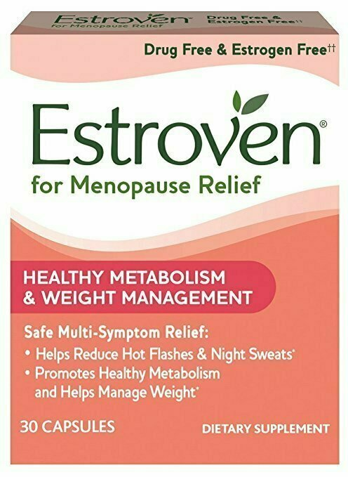 Estroven Weight Management | Menopause Relief Dietary Supplement | Safe Multi-Symptom Relief | Helps Reduce Hot Flashes & Night Sweats* | Helps Manage Weight*| Drug Free & Estrogen Free** | 30 Caplets - usaotc.com
