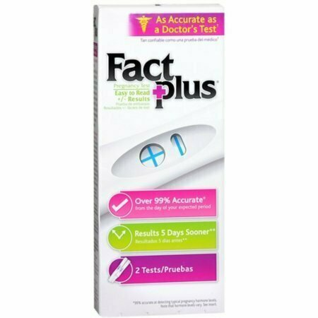 Fact Plus Select One-Step Pregnancy Tests 2 Each - usaotc.com