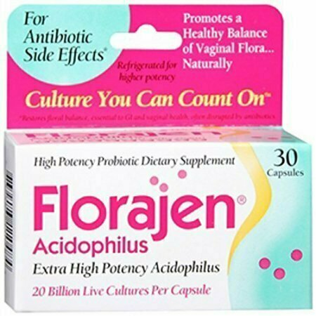 Florajen Acidophilus Dietary Supplement 30 Caps - usaotc.com