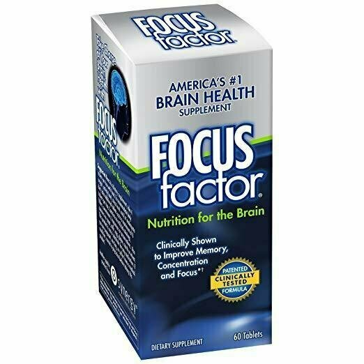 Focus Factor Brain Support, Tablets 60 each - usaotc.com