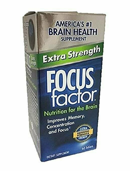 FOCUS Factor Dietary Supplement, Extra Strength, 60 Tablets Per Bottle - usaotc.com