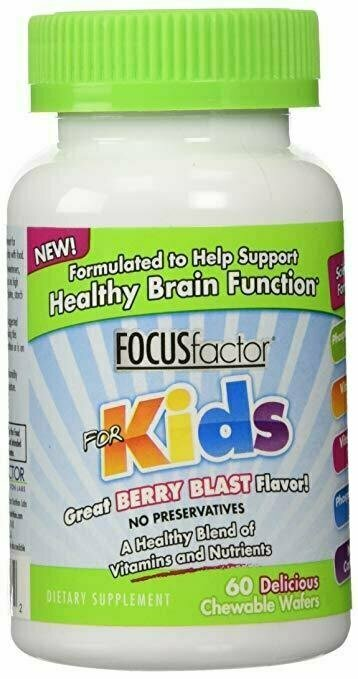 Focus Factor For Kids - 60 ct - usaotc.com