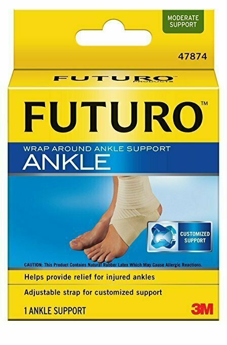 Futuro Wrap Around Ankle Support, Small, Moderate Support - usaotc.com