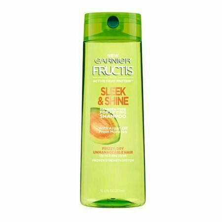 Garnier Fructis Sleek And Shine Fortifying Shampoo, 12.5 Oz - usaotc.com