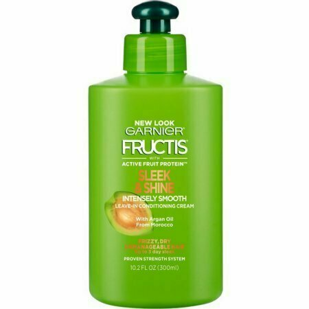 Garnier Fructis Sleek & Shine Intensely Smooth Leave-In Conditioning Cream 10.2 oz - usaotc.com