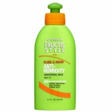 Garnier Fructis Style Sleek & Shine Anti-Humidity Smoothing Milk 5.10 oz - usaotc.com