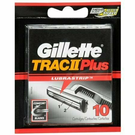 Gillette Trac II Plus Cartridges 10 Each - usaotc.com