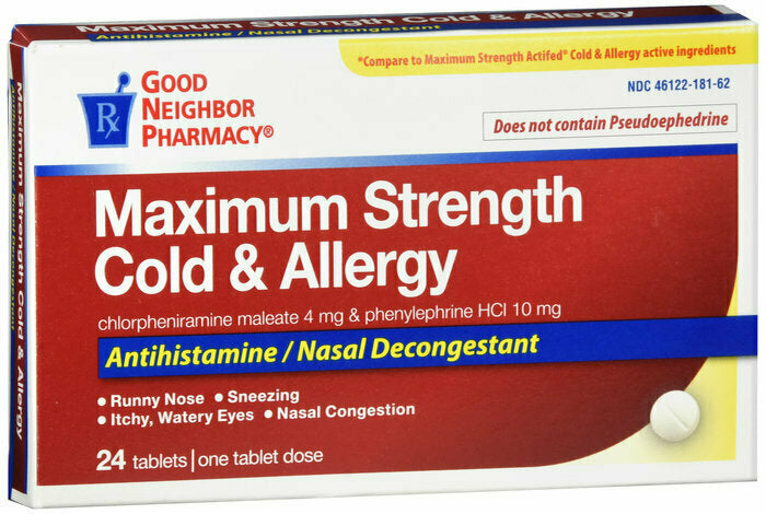GNP COLD ALLERGY TABS 24CT - usaotc.com