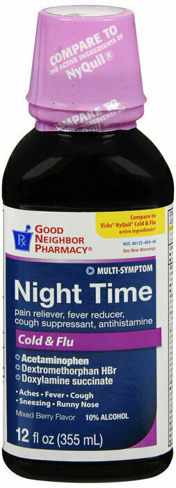 GNP NITETIME 6HR BERRY LIQUID 12 OZ - usaotc.com