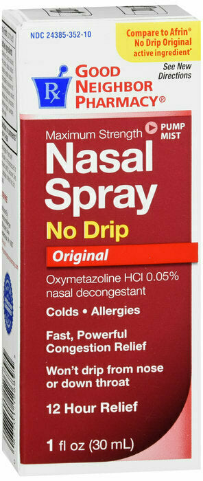 GNP NO DRIP 12HR NASAL SPRAY 1 OZ - usaotc.com