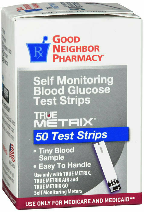 GNP TRUEMETRIX TEST STRIP 50CT - usaotc.com