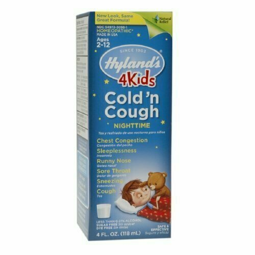 Hyland's Hylands Night Time Cold and Cough, 4 oz - usaotc.com