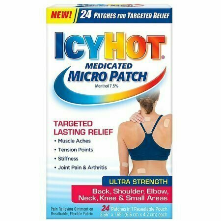 ICY HOT Medicated Micro Patch 24 each - usaotc.com