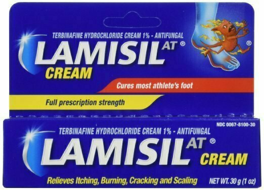 LAMISIL AT CREAM ATHLETE FOOT 30GM - usaotc.com