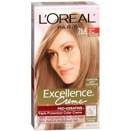 L'Oreal Excellence Creme - 7-1/2A Medium Ash Blonde (Cooler) 1 Each - usaotc.com