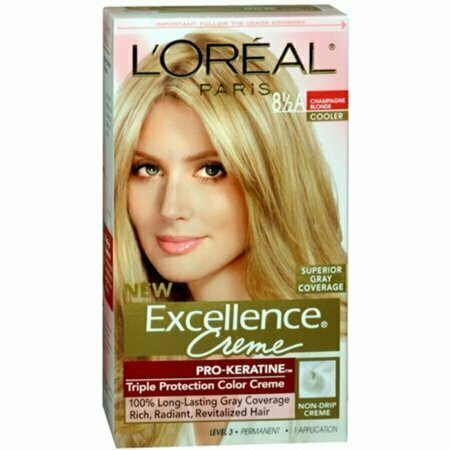 L'Oreal Excellence Creme - 8-1/2A Champagne Blonde (Cooler) 1 Each - usaotc.com