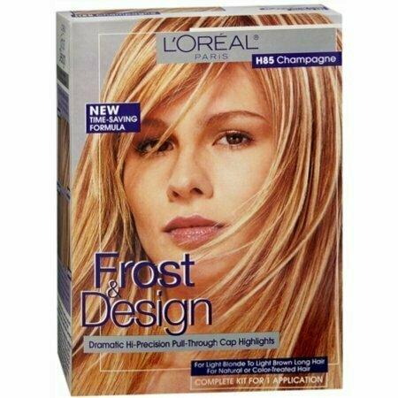 L'Oreal Frost & Design Highlights H85 Champagne 1 Each - usaotc.com