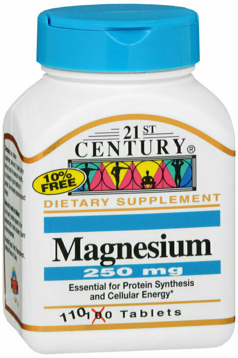 MAGNESIUM 250MG TABLETS 110 CT - usaotc.com