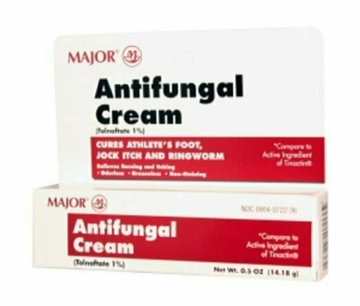 MAJOR ANTIFUNGAL CREAM TOLNAFTATE-1 % White 14.18 GM - usaotc.com