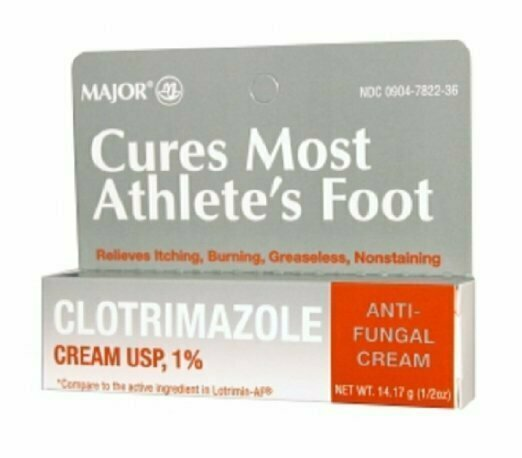 MAJOR CLOTRIMAZOLE ANTIFUNGAL 1% CREAM CLOTRIMAZOLE White 14.17 GM - usaotc.com