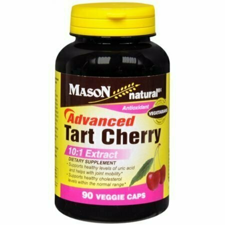 Mason Natural Advanced Tart Cherry 10:1 Veggie Caps 60 each - usaotc.com