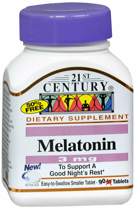 MELATONIN 3MG TABLET 90CT - usaotc.com
