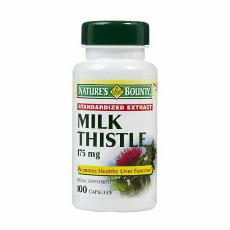 Milk Thistle 175 Mg Standardized Extract Capsules By Natures Bounty - 100 Each - usaotc.com