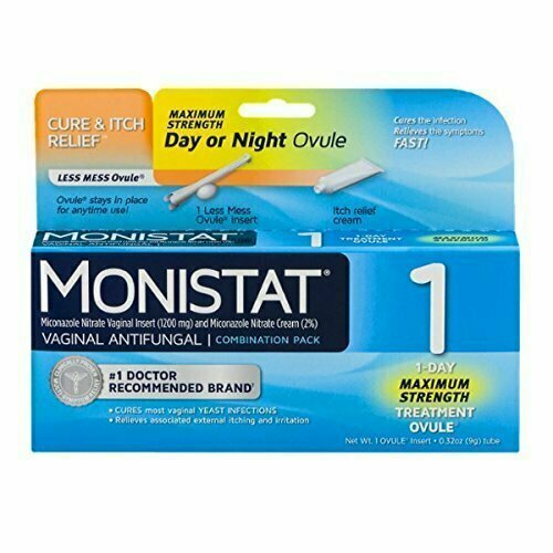 Monistat 1 Vaginal Antifungal Day or Night 1-Day Treatment Combination Pack - usaotc.com