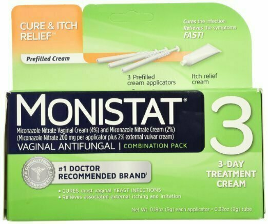 MONISTAT 3 CREAM COMBO PACK - usaotc.com